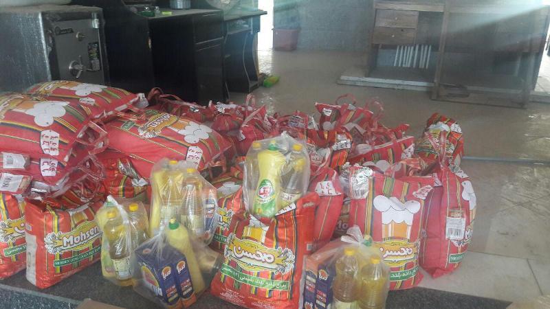 بسته حمایتی غذایی 433 سبد کالا بین نیازمندان در ساوه توزیع شدنسخه چاپی