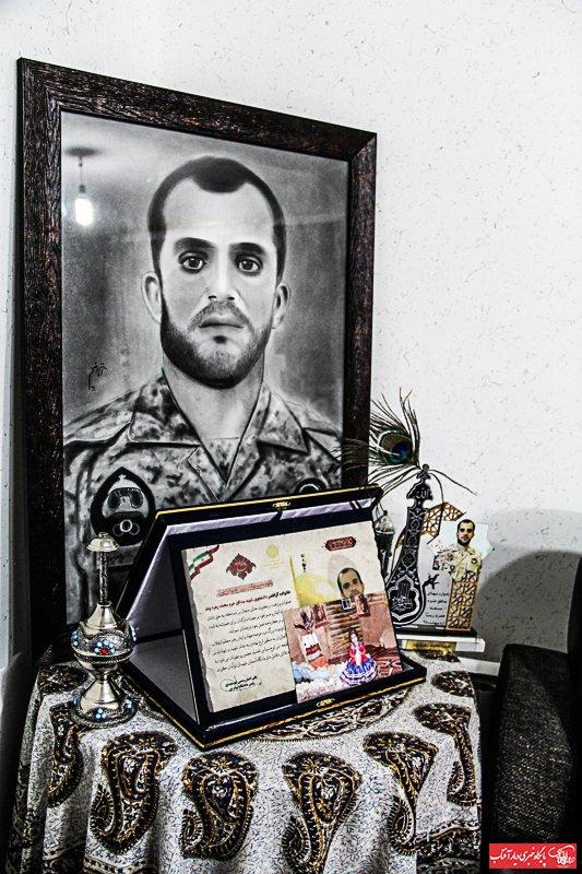 تجلی آرزوی «محمد» و چشم انتظاری های من و «ریحانه»/به شهادت همسرم در راه دفاع از حرم آل الله افتخار می کنم+تصاویر