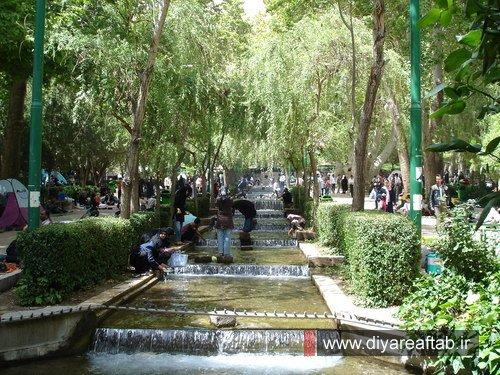Image result for پارک سرچشمه محلات