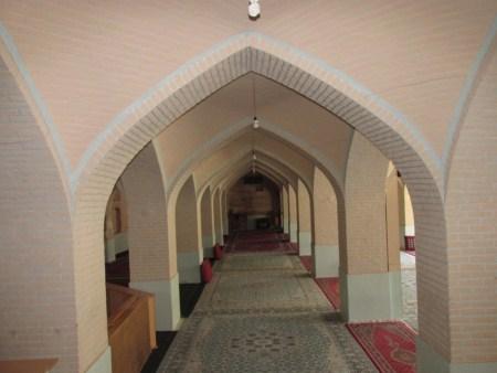 دلیل شنیدن صدای اذان درگوش مسجد جامع خمین یکی از آثار تاریخی این شهرستان
