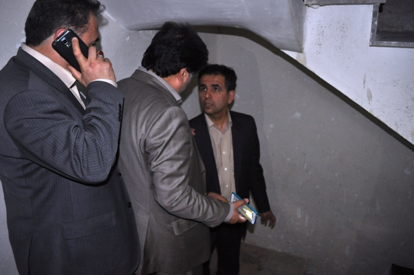 صبح محلات: بازدی معاون وزیر راه و شهرسازی از سایت مسکن مهر محلات